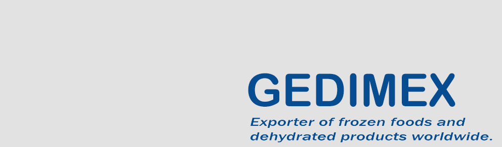Gedimex, exporter of frozen foods and dehydrated ingredients