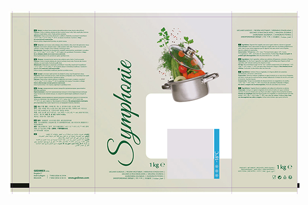 emballage Symphonie 1kg