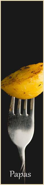 productos de papas deshidratadas