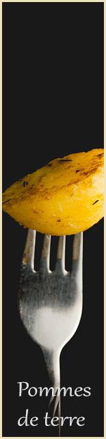 Pommes de terre déshydratés