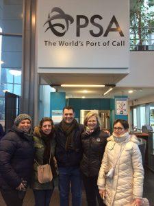 Visit port of Antwerp