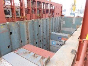 Visit cargo ship Zeebrugge